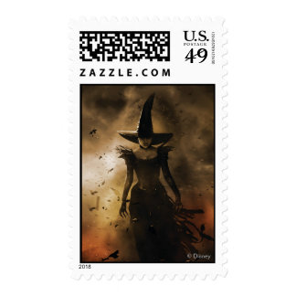 The Wicked Witch of the West 4 Postage Stamps