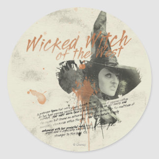 The Wicked Witch of the West 5 Classic Round Sticker