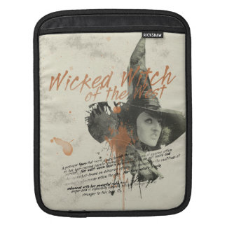 The Wicked Witch of the West 5 iPad Sleeve