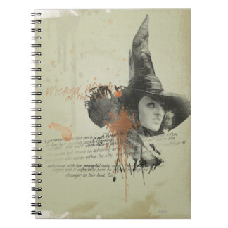 The Wicked Witch of the West 5 Notebook