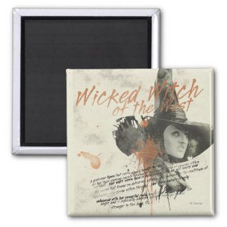 The Wicked Witch of the West 5 Refrigerator Magnet