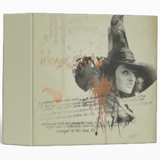 The Wicked Witch of the West 5 Vinyl Binders