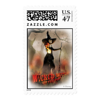 The Wicked Witch of the West 6 Postage Stamp