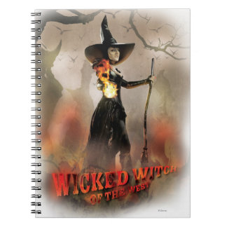 The Wicked Witch of the West 6 Spiral Note Books