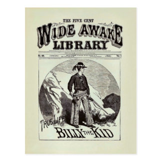 The Wide Awake Library - Billy The Kid - Vintage Postcard