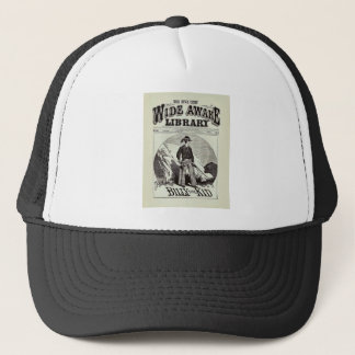 The Wide Awake Library - Billy The Kid - Vintage Trucker Hat