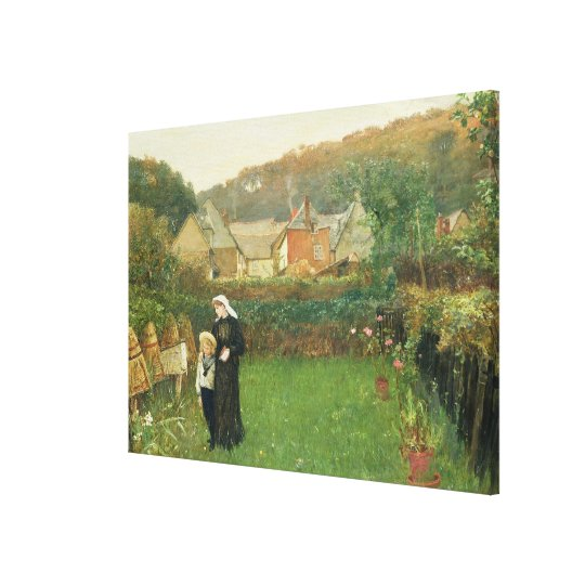 The Widow, 1895 (oil on canvas) Canvas Print