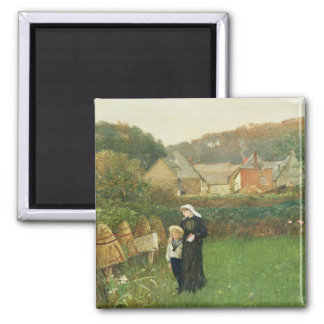 The Widow, 1895 (oil on canvas) Magnet