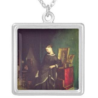 The Widow, c.1850 Custom Necklace