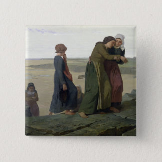 The Widow or The Fisherman's Family Pinback Button