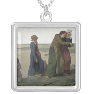 The Widow or The Fisherman's Family Silver Plated Necklace
