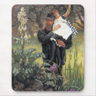 The widower by James Tissot Mouse Pad