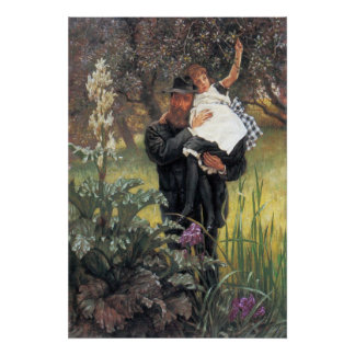 The widower by James Tissot Poster