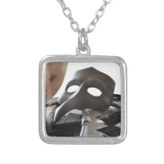 The Widower's Mask Necklace