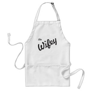 The Wifey Adult Apron