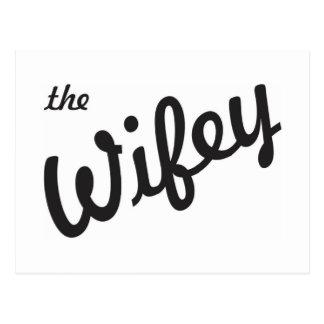 The Wifey Postcard
