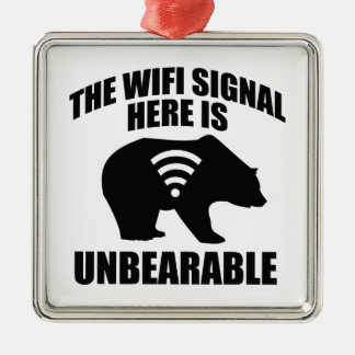 The Wifi Signal Here Is Unbearable Ornaments