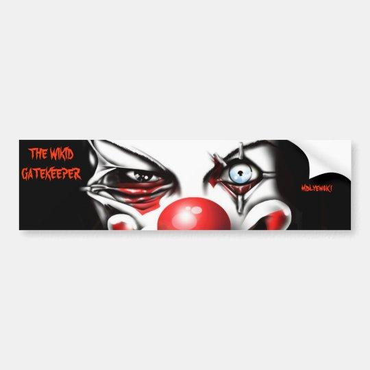 The Wikid Gatekeeper Bumper Sticker