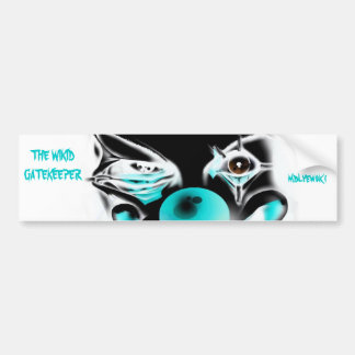 The Wikid Gatekeeper Inverted Color Bumper Sticker