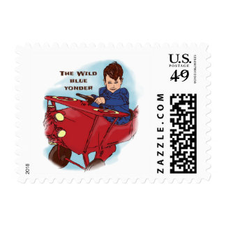 The Wild Blue Postage