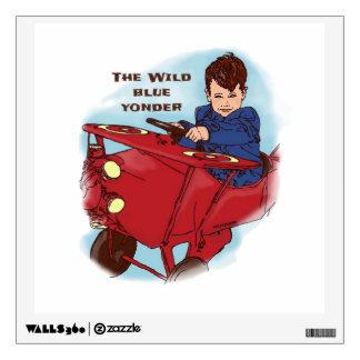 The Wild Blue Yonder Kids Art Wall Decal