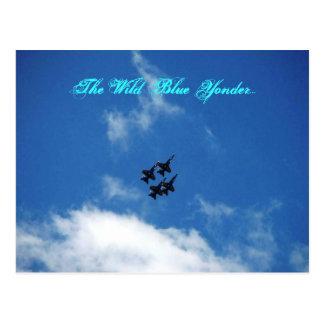 The Wild Blue Yonder... Postcard