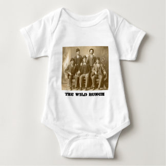 The Wild Bunch - Butch Cassidy & Sundance Kid Baby Bodysuit