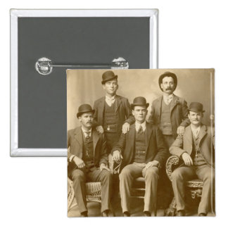 The Wild Bunch - Butch Cassidy & Sundance Kid Pinback Buttons