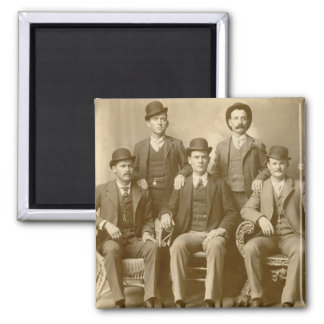 The Wild Bunch - Butch Cassidy & Sundance Kid 2 Inch Square Magnet