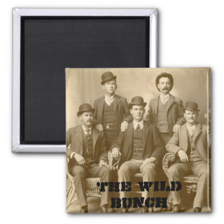The Wild Bunch - Butch Cassidy & Sundance Kid Magnet