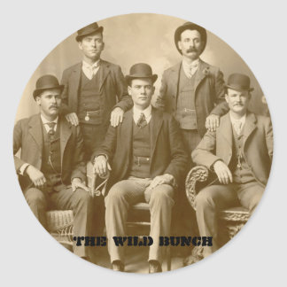The Wild Bunch - Butch Cassidy & Sundance Kid Sticker