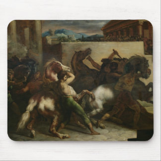 The Wild Horse Race at Rome, c.1817 Mouse Pad