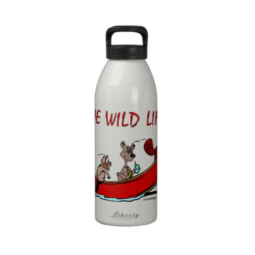 The Wild Life Reusable Water Bottle