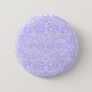 The wild lilac floral vines button