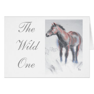The Wild One Card