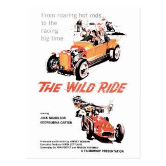 """The Wild Ride"" Postcard"