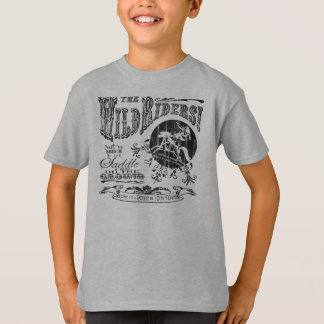 The Wild Riders Youth- Black Design T-Shirt