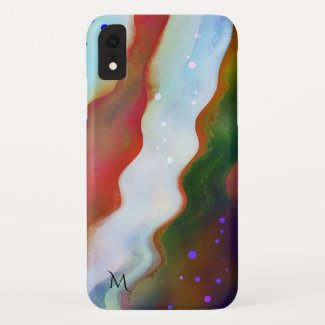 The Wild River Flow Painting Phone Case