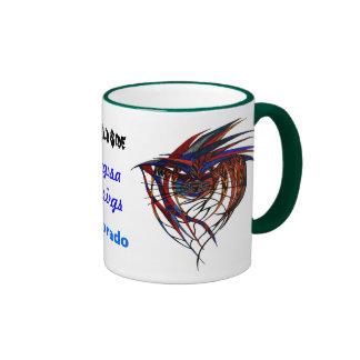 The Wild Side Animal Ringer Mug