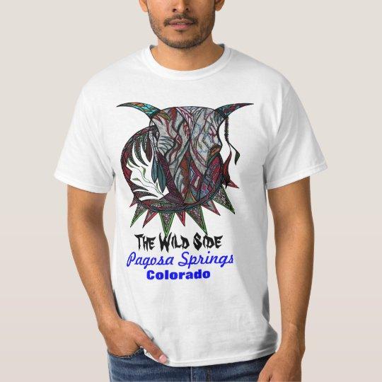 The Wild Side Bull T-Shirt