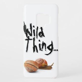 The wild side of a snail... Case-Mate samsung galaxy s9 case