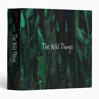 The Wild Things 3 Ring Binder