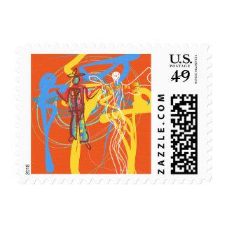 The Wild Wild West Stamp