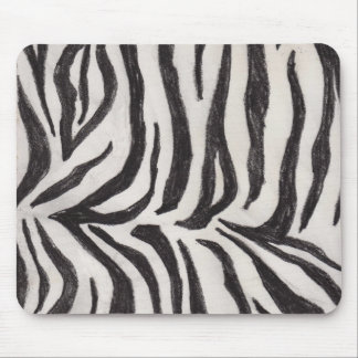 The Wild Zebra Mouse Pads