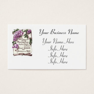 The Wilderness And The Solitary Place Business Card