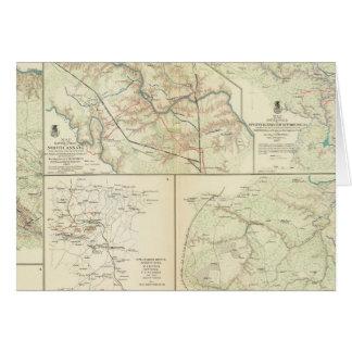 The Wilderness, N Anna, Spotsylvania CH Card