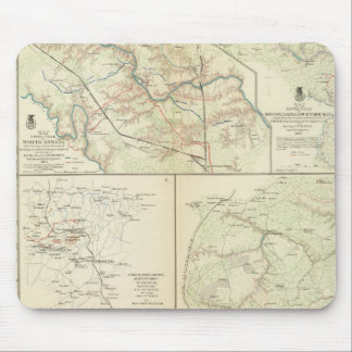 The Wilderness, N Anna, Spotsylvania CH Mouse Pad