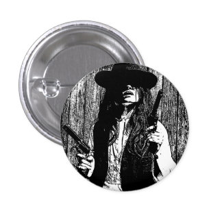 The Wildest Cat in The Crazy West Button Buttons