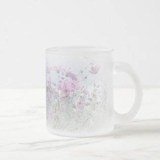 The Wildflower Dream Frosted Glass Coffee Mug