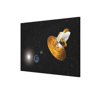 The Wilkinson Microwave Anisotropy Probe Canvas Print